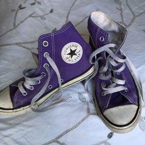 3/$20 Girls Converse high tops
